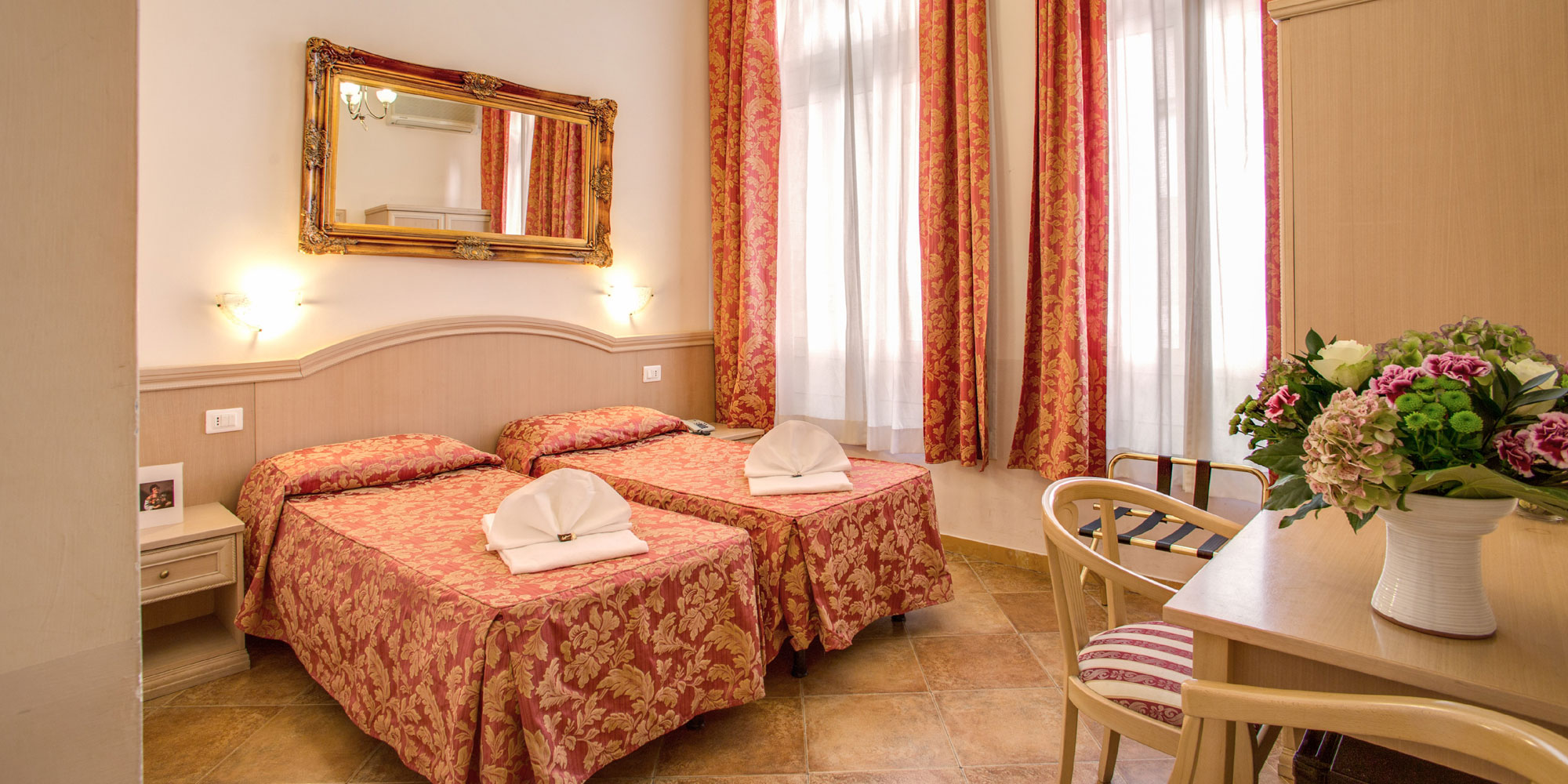 Hotel Caravaggio Rome - Our Facilities